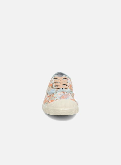 Baskets Bensimon Liberty Beige vue portées chaussures