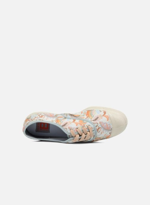 Trainers Bensimon Liberty Beige view from the left