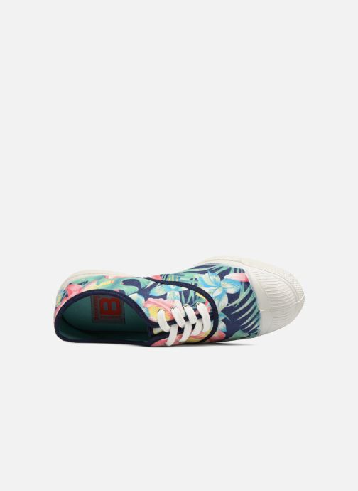 Baskets Bensimon Hibiscus Multicolore vue gauche