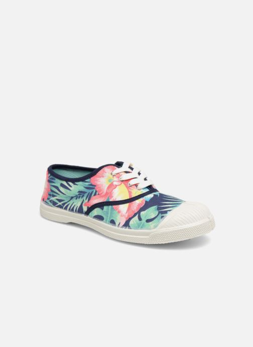 Baskets Bensimon Hibiscus Multicolore vue détail/paire