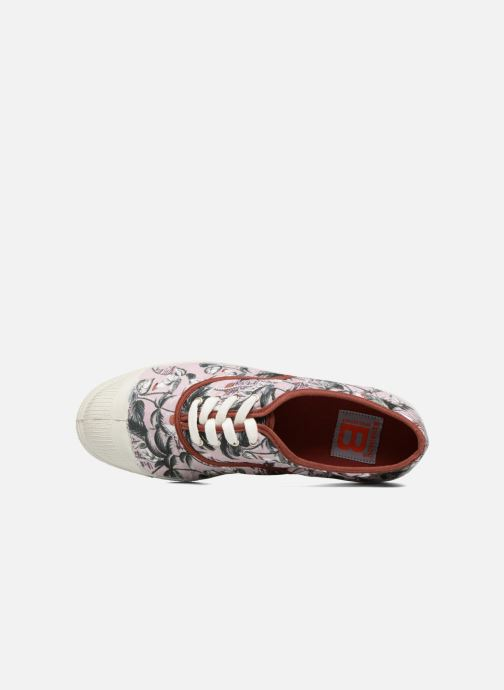 Trainers Bensimon Surf Print Multicolor view from the left