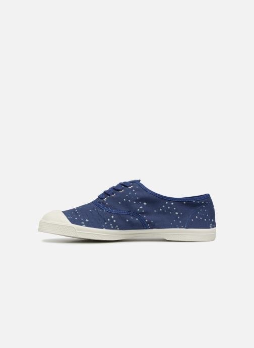 Trainers Bensimon Indigoprint Blue front view