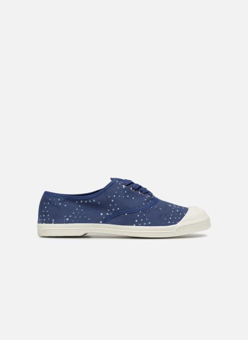 Trainers Bensimon Indigoprint Blue back view