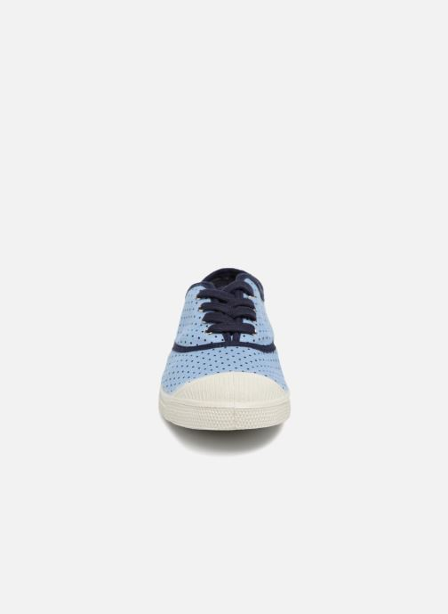 Trainers Bensimon Poisdenim Blue model view