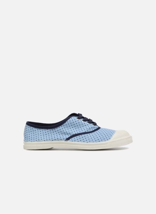 Trainers Bensimon Poisdenim Blue back view