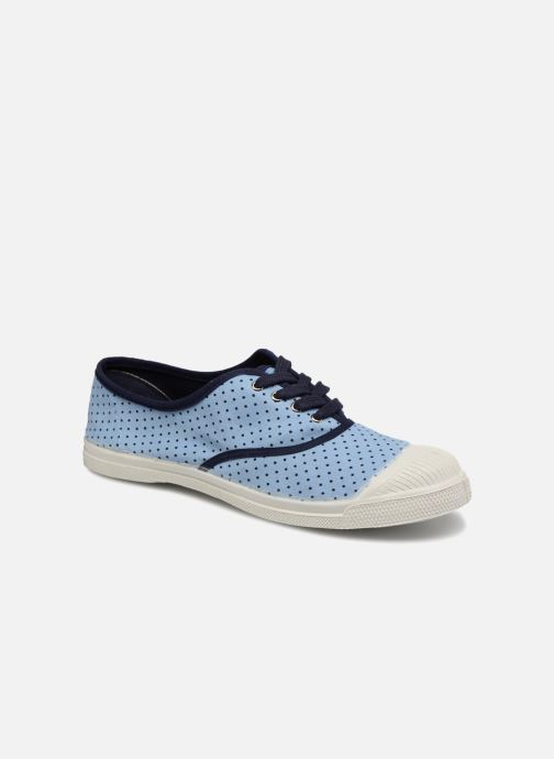 Trainers Bensimon Poisdenim Blue detailed view/ Pair view
