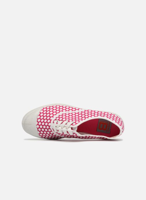 Sneakers Bensimon Colorspots Rosa immagine sinistra