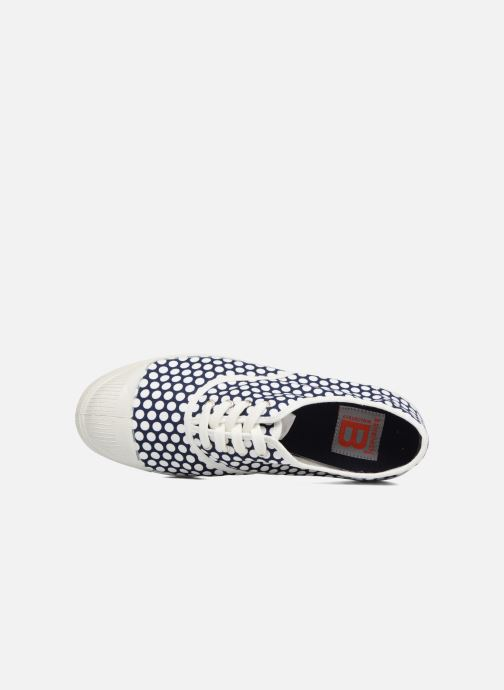 Trainers Bensimon Colorspots Blue view from the left