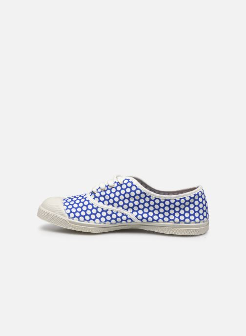 Baskets Bensimon Colorspots Bleu vue face