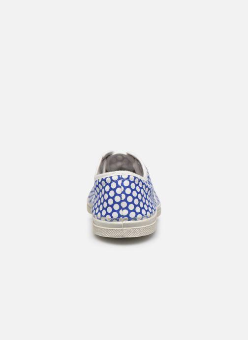 Sneakers Bensimon Colorspots Blauw rechts
