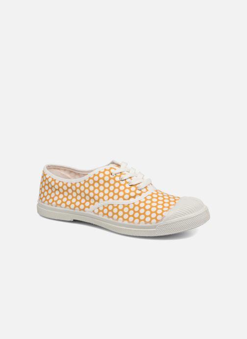 Sneakers Bensimon Colorspots Geel detail