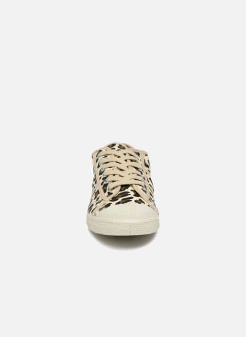 Trainers Bensimon Panther Beige model view