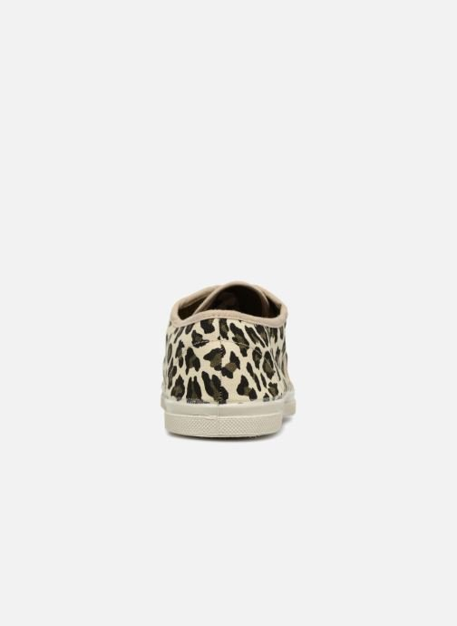 Trainers Bensimon Panther Beige view from the right