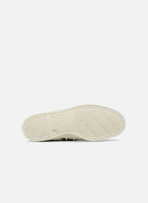Trainers Bensimon Panther Beige view from above