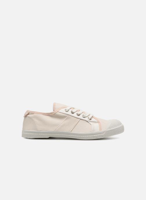 Trainers Bensimon Fines Rayures Beige back view