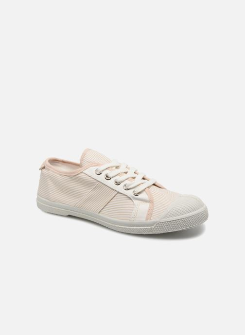 Trainers Bensimon Fines Rayures Beige detailed view/ Pair view