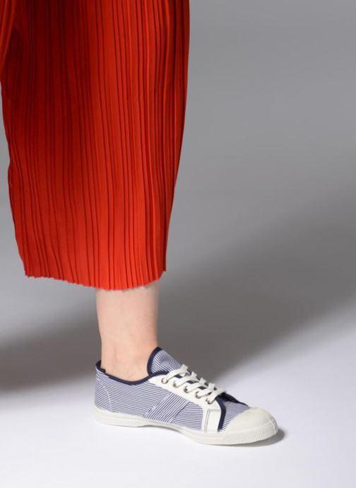 Sneakers Bensimon Fines Rayures Blauw onder