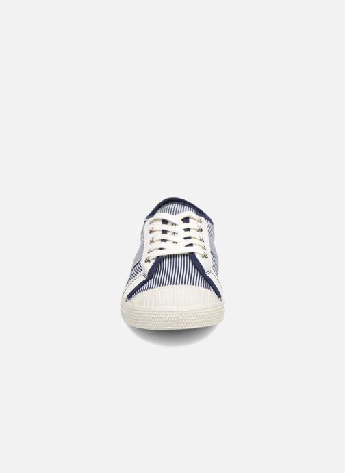 Sneakers Bensimon Fines Rayures Blauw model