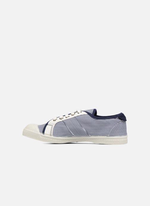 Sneakers Bensimon Fines Rayures Blauw voorkant