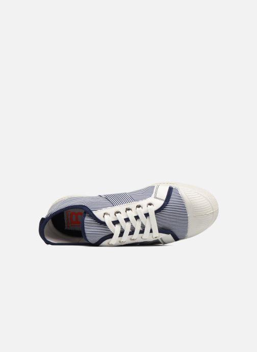 Sneakers Bensimon Fines Rayures Blauw links