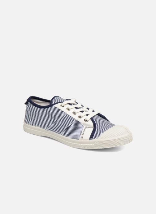 Sneakers Bensimon Fines Rayures Blauw detail