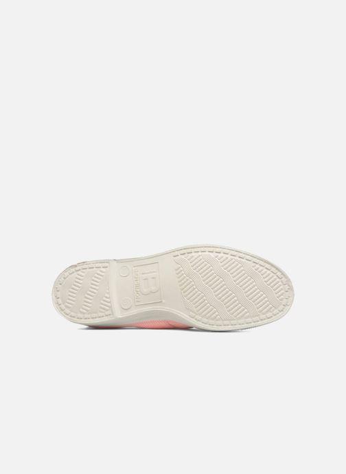 Sneakers Bensimon Fines Rayures Rosa immagine dall'alto