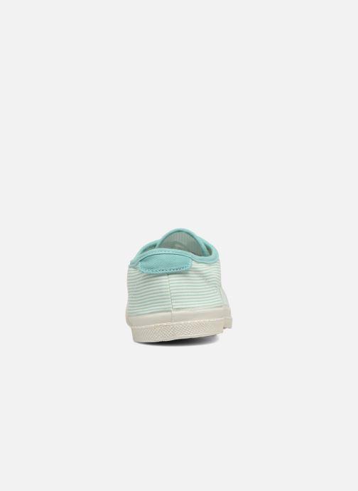 Sneakers Bensimon Fines Rayures Groen rechts