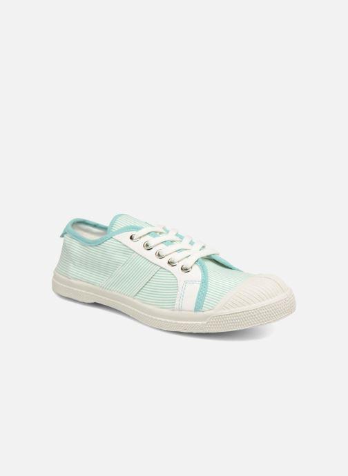 Sneakers Bensimon Fines Rayures Groen detail