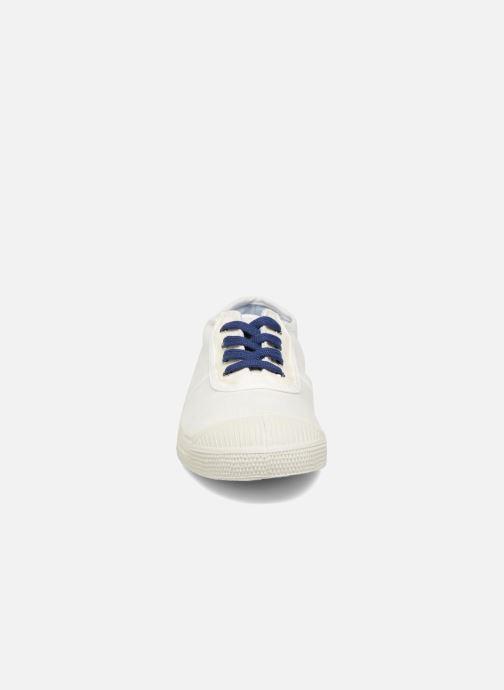 Sneaker Bensimon Linenoldies weiß schuhe getragen