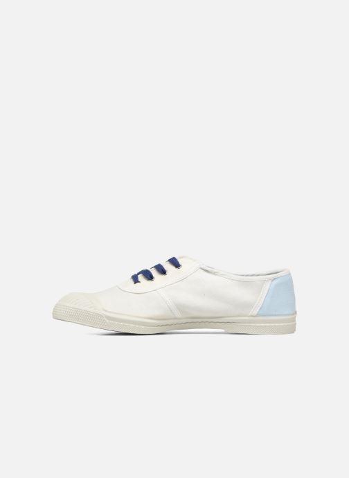 Sneaker Bensimon Linenoldies weiß ansicht von vorne