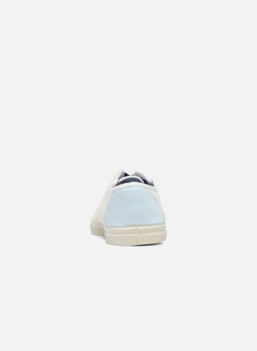 Trainers Bensimon Linenoldies White view from the right