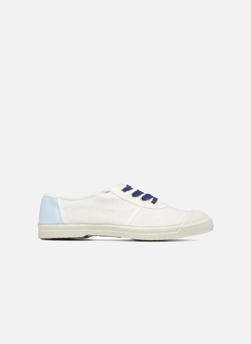 Trainers Bensimon Linenoldies White back view