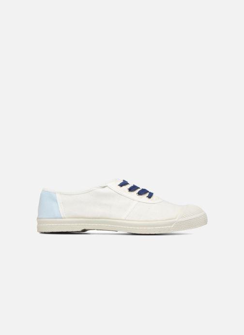Sneaker Bensimon Linenoldies weiß ansicht von hinten