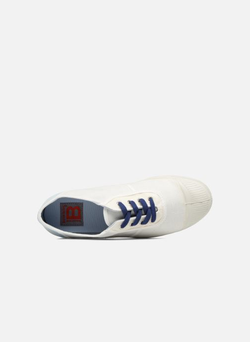 Trainers Bensimon Linenoldies White view from the left
