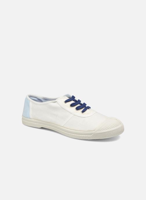 Trainers Bensimon Linenoldies White detailed view/ Pair view