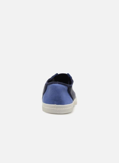 Trainers Bensimon Linenoldies Blue view from the right