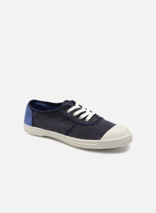 Trainers Bensimon Linenoldies Blue detailed view/ Pair view