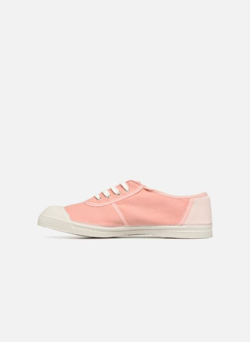 Trainers Bensimon Linenoldies Pink front view