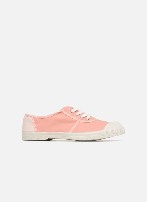 Trainers Bensimon Linenoldies Pink back view