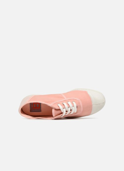 Trainers Bensimon Linenoldies Pink view from the left