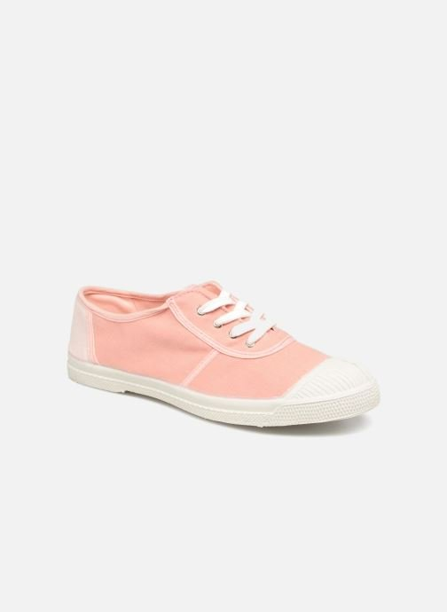 Trainers Bensimon Linenoldies Pink detailed view/ Pair view