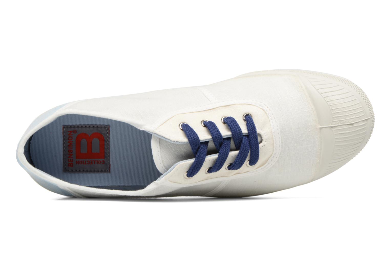 Baskets Bensimon Linenoldies Blanc vue gauche