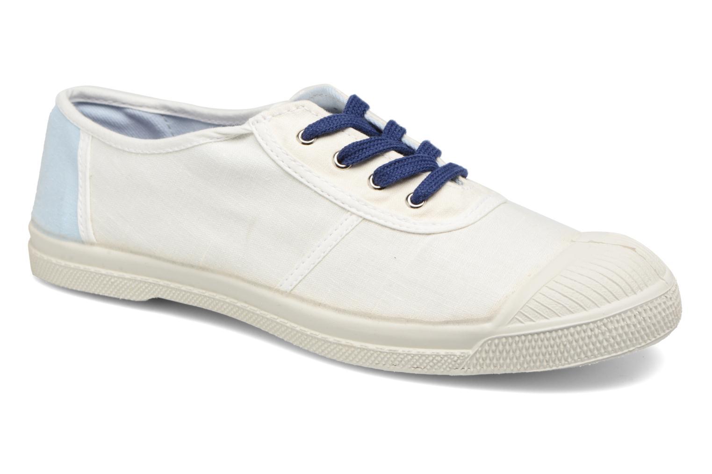 Baskets Bensimon Linenoldies Blanc vue détail/paire