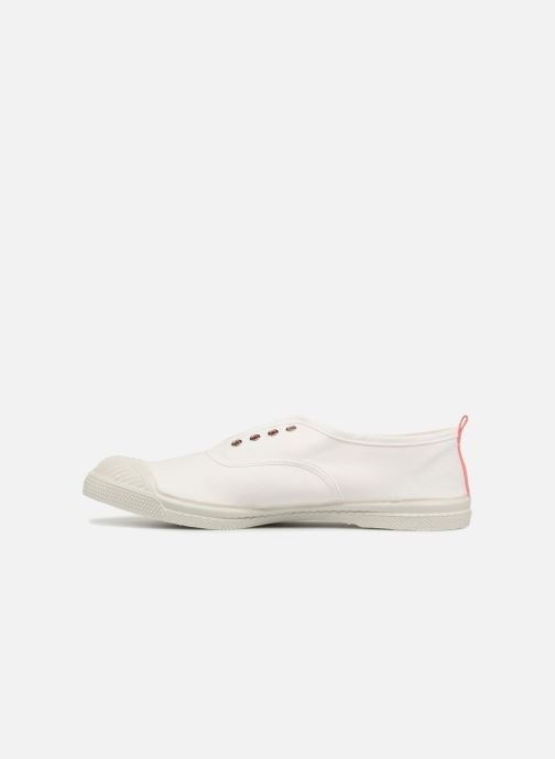 Baskets Bensimon Whity Blanc vue face