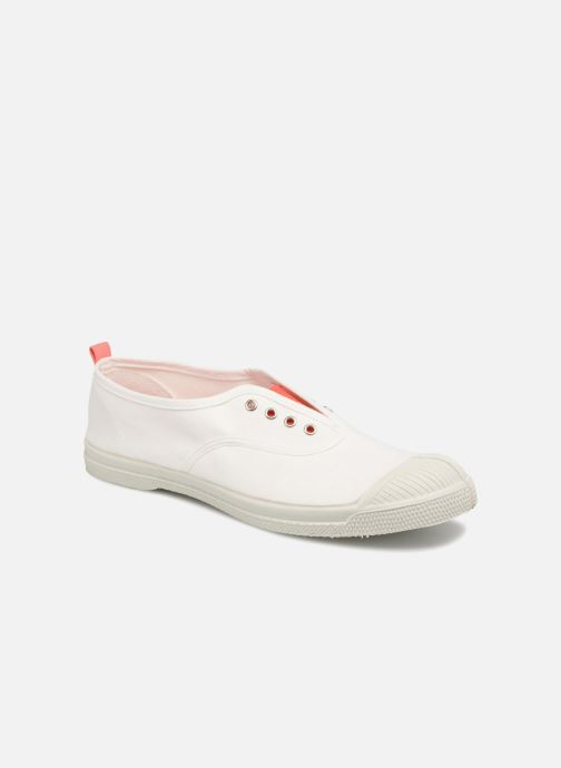 Baskets Bensimon Whity Blanc vue détail/paire