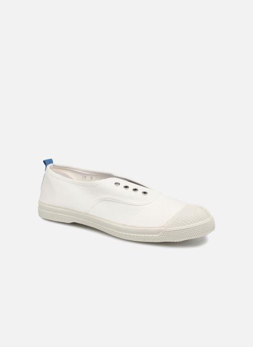 Baskets Bensimon Whity Blanc vue détail/paire