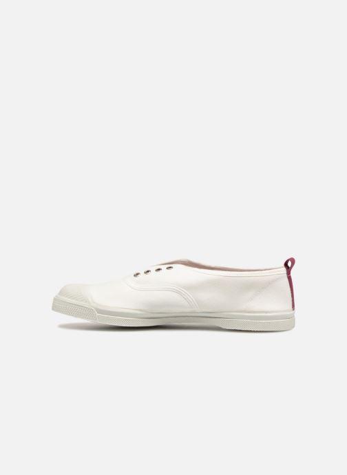 Sneaker Bensimon Whity weiß ansicht von vorne