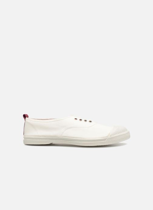 Sneaker Bensimon Whity weiß ansicht von hinten