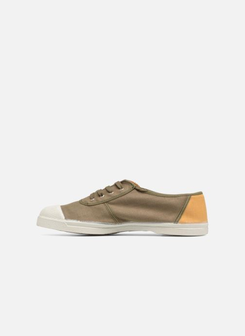 Trainers Bensimon Linenoldies Green front view