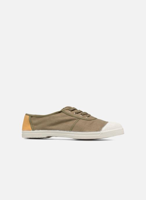Trainers Bensimon Linenoldies Green back view